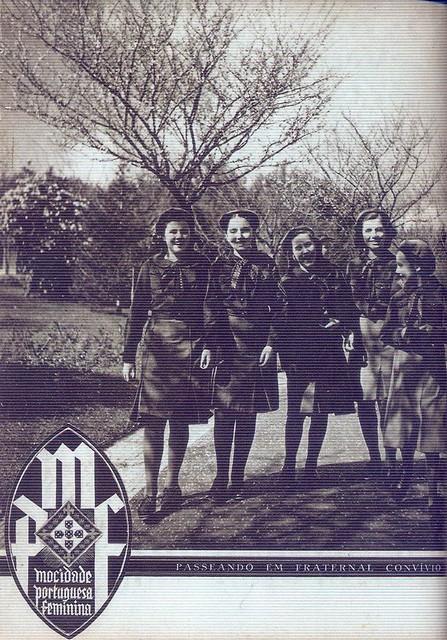 Mocidade Portuguesa Feminina, Nº 18, Outubro 1940 - capa