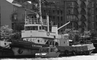 Former Tug - Emshorn - New China Wharf, River Thames