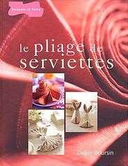 Didier Boursin - Pliage de serviettes