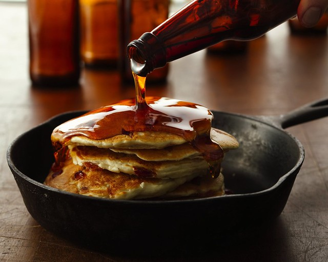 Beer and Bacon Mancakes Recipe | Flickr - Photo Sharing!