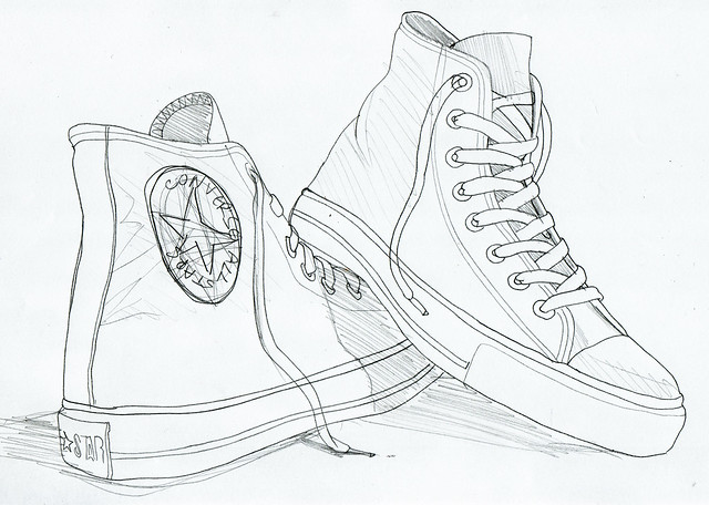 converse coloring pages printable - photo#10