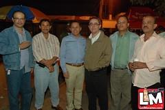 Concierto popular del patronato 26 de julio y el ayuntamiento municipal en el parque Cáceres