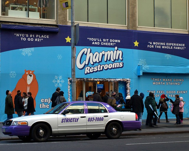 Charmin Restrooms Times Square New York City West 42