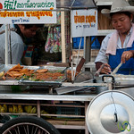 Street food and Cowboy Hats - Bangkok, Thailand