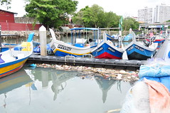 River Pollution at Sungai Pinang