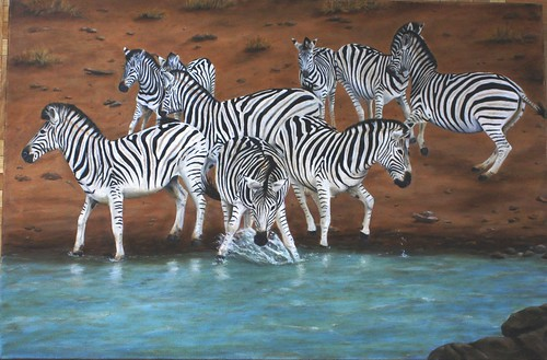 Zebras by Sid's art