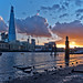 The Shard / spring sunset / London / 2012