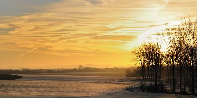 Geer, matin d'hiver