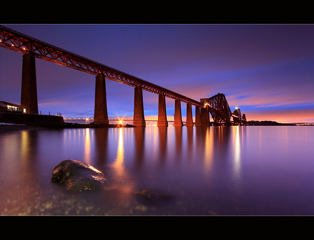 Forth Bridge Gloaming South Queensferry