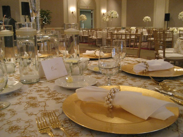 The Elegant Reception Table Setting Flickr Photo Sharing