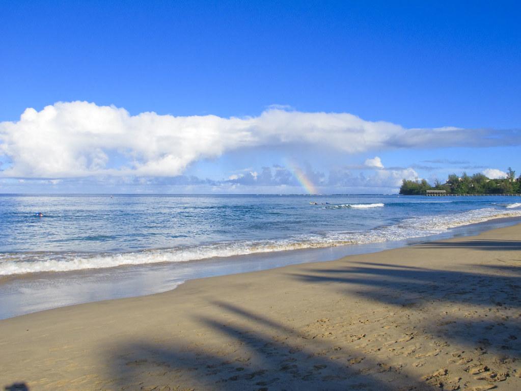 пляж гавайи