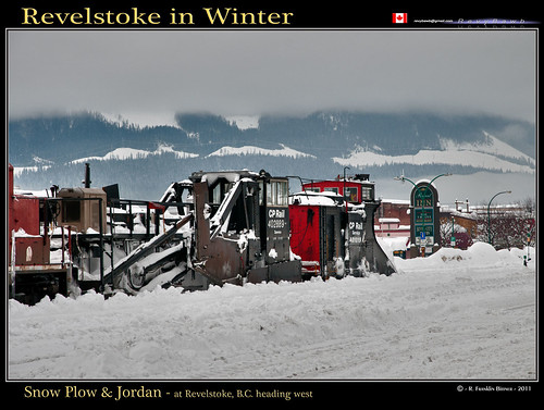 winter snow canada bc britishcolumbia jordan railways cpr revelstoke locomotives railroads snowplow