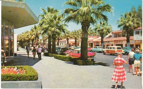 Bullock's Palm Springs CA 1950's beautiful sunshine