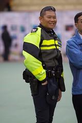 Hong Kong Police Traffic Officer