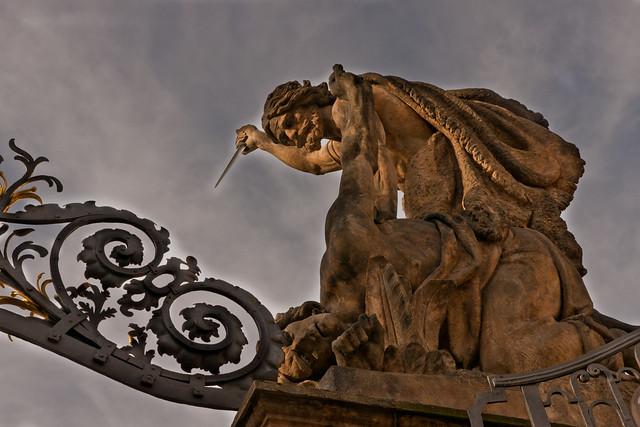 The Titans at Prague Castle