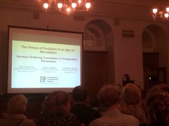 Christine Stuart, research assistant speaking at the 200th anniversary event of the Norwegian constitution.