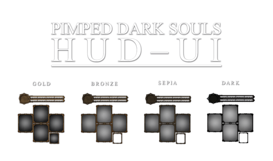 Pimped Hud With Dark Souls Ii Elements At Dark Souls Nexus Mods And Community