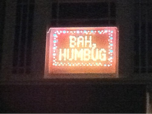 Christmas lights? Bah Humbug!