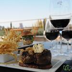 Delicious Meal at Tempus Alba Winery - Mendoza, Argentina