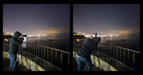 ocean california city light portrait sky people cloud seascape reflection night canon fence landscape star photographer backside orangecounty lagunabeach highiso 6400 ef14mmf28liiusm eos5dmarkii