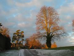 Boughton Hall at sunrise
