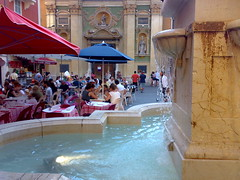 Fountain at Place Rossetti, Nice