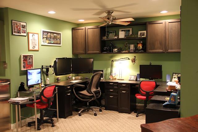 basement office flickr photo sharing