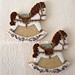 Carousel-Rocking-Horse cookies by PiaMarianne