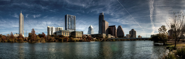 Austin Skyline - Morning Sun