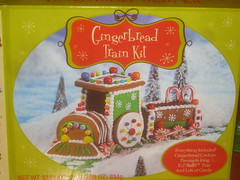 Building a Gingerbread Train