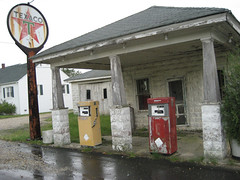 Abandoned Gas Station; Mechanicsville, Maryland