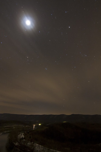 sky moon mountains valley nightsky lunareclipse wintersolsticelunareclipse