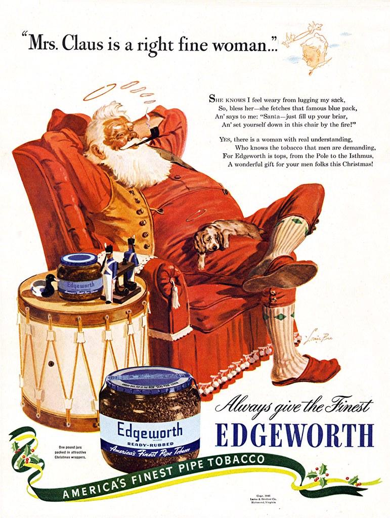 Edgeworth Pipe Tobacco - 1935