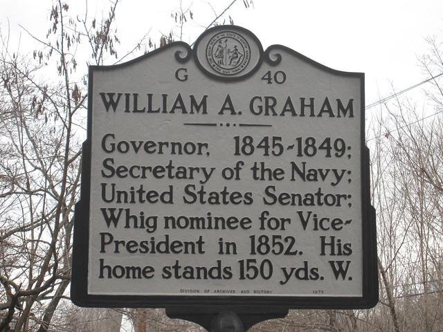 Header of William A. Graham