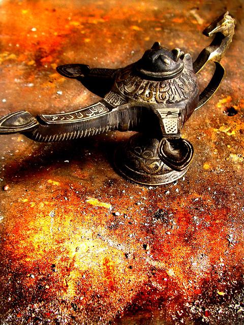 Header of Aladdin's Magic Lamp