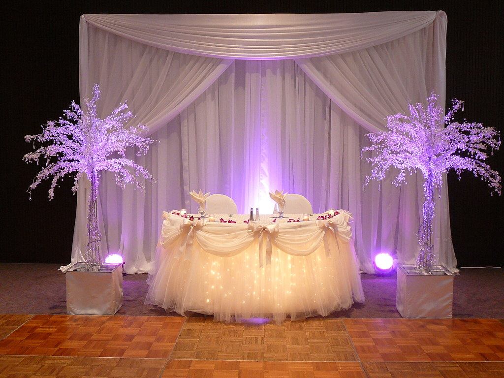 Sweetheart Or Head Table Decor Decor By Sbd Events A