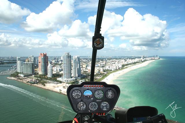 South Beach - Miami Beach aerial photography