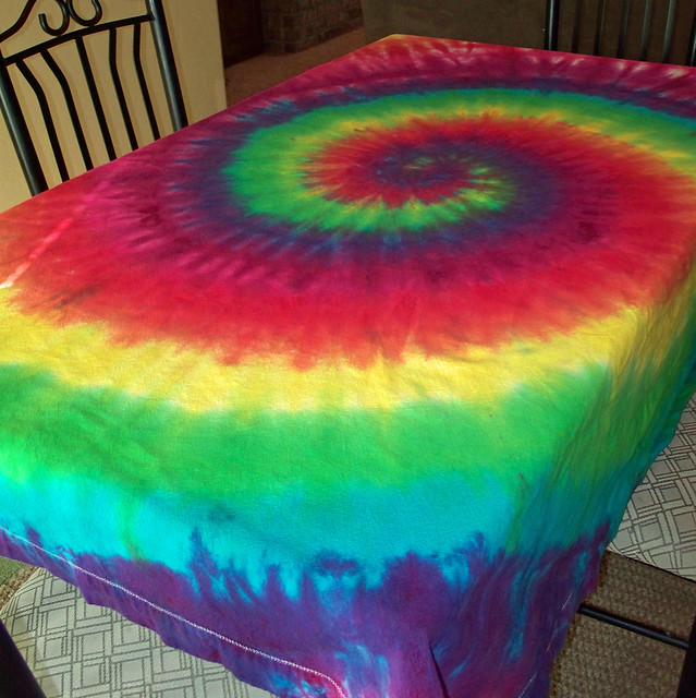 Tie Dye Tablecloth Flickr Photo Sharing