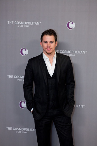 Actor Channing Tatum at The Cosmopolitan Grand Opening and New Year's Eve Celebration