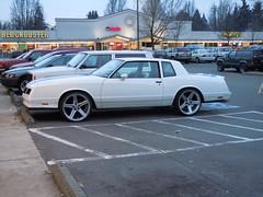 Chevrolet Monte Carlo SS. 22 inch chrome rims.