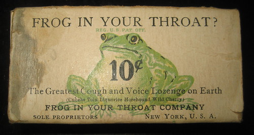 Frog In Your Throat Box 1