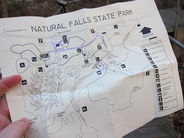 Natural Falls Park Oklahoma