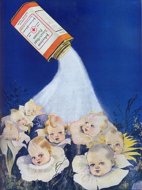Johnson's Baby Powder, 1921