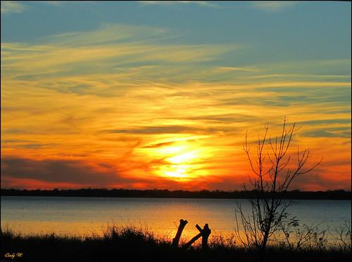 Lake Lavon Sunset