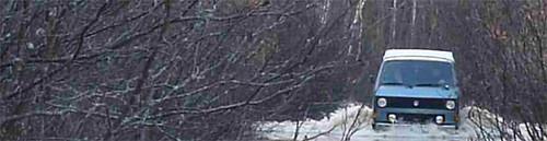 fall 4x4 newbrunswick swamp syncro vanagon mudbog