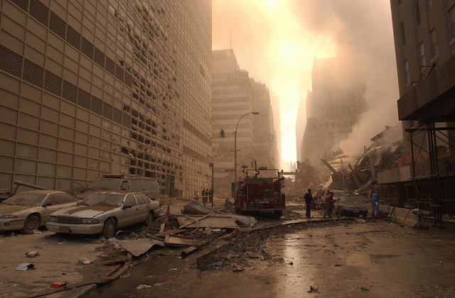 Ground Zero, 9-13-01, by Andrea Booher