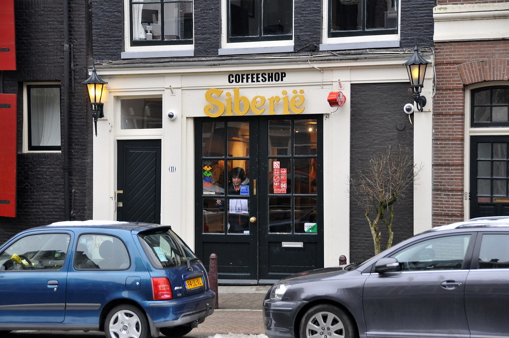 Coffeeshop Siberie à AMsterdam - Photo de FaceMePLS @ Flickr.