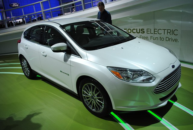 2011 Detroit: 2012 Ford Focus Electric