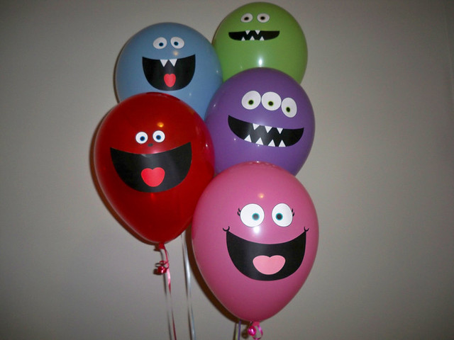 Monster Balloon Faces | Flickr - Photo Sharing!