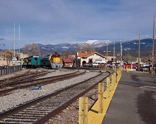 railroad mountain newmexico santafe